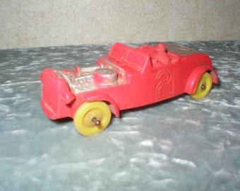 1950's Auburn Rubber Race Car
