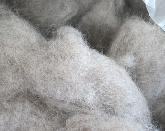Roving - 100% Natural Romney wool for spinning, felting or crafting, 4 ouncesu