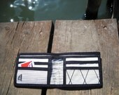 Taffeta sailcloth wallet