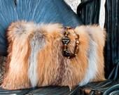 Vintage Red Fox Handbag