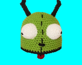 Gir Hat. Beanie. (Any Sizes: Newborn to Adult). Please send the size.