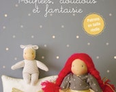 French book, Doll Making, Doudous making, sewing clothing and accessories for dolls waldorf inspired