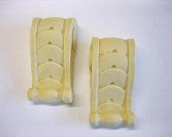 Dollhouse Miniature Decorative Corbels (set of 2)
