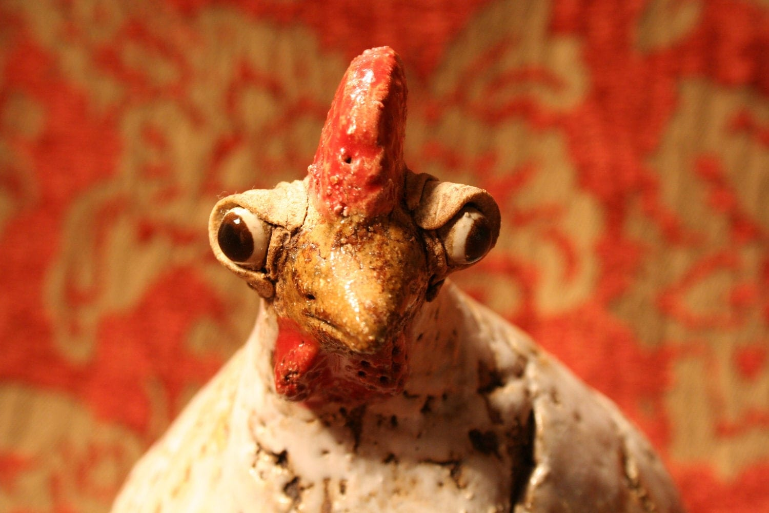 Ugly chicken by flybynightvintage on etsy