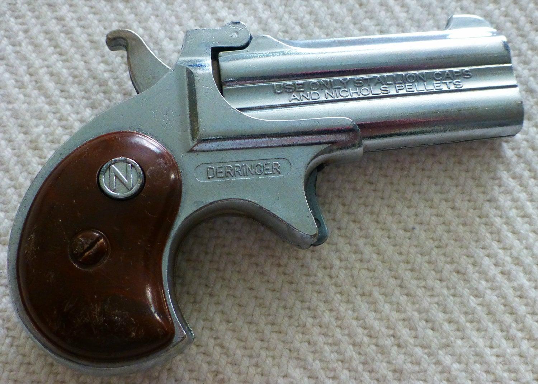 1950 Nichols Derringer Toy Mini Cap Gun