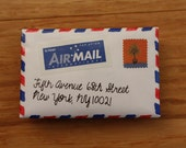 Air Mail Envelope Card Holder Wallet