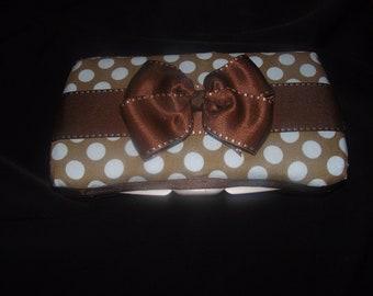 Personalized Diaper Wipe Case