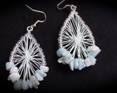Jade Dream Catcher Earrings