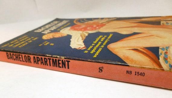Bachelor Apartment, Don Holliday, vintage book, vintage erotica, pulp, fiction