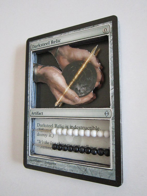 MtG Magic: the Gathering 3D Life Counter - DarkSteel Relic