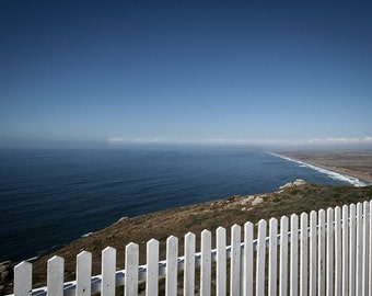 Landscape Photography - Point Reyes White Picket Fence, California -  8x12
