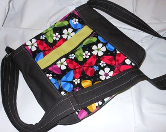 Butterfly Hip Bag w/ Adjustable Strap