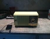 GE Antique Tube Radio iPod/MP3 player