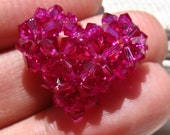 Swarovski Crystal Heart Ring