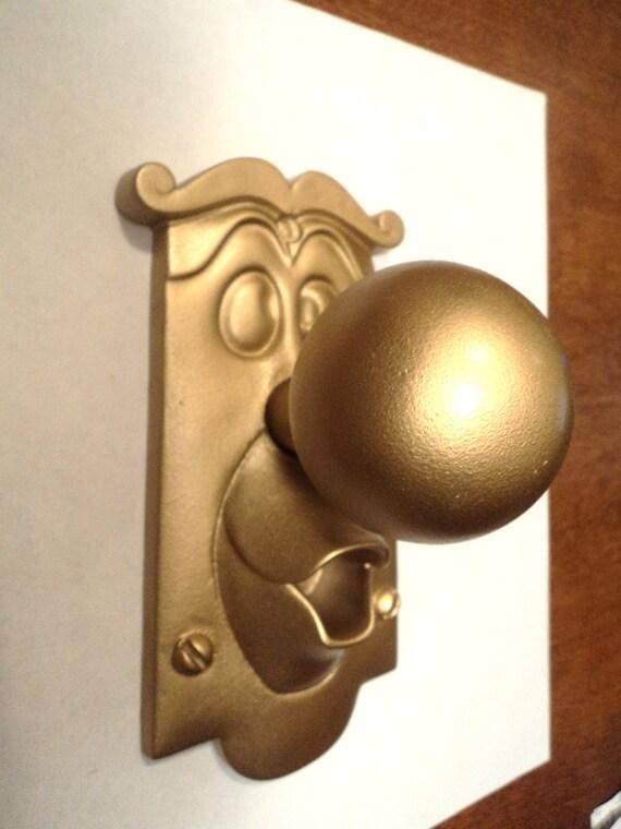 Alice in Wonderland Inspired Doorknob Character