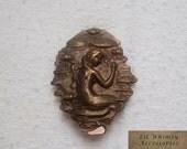 Bronze hair clip