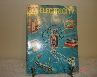 The How And Why Wonder Book Of Electricity Number 5003 - Vintage Books