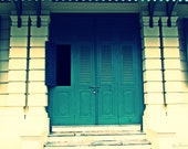 Vintage Green / Sea Green / Windows / Symmetry / Historical - janiellephotography