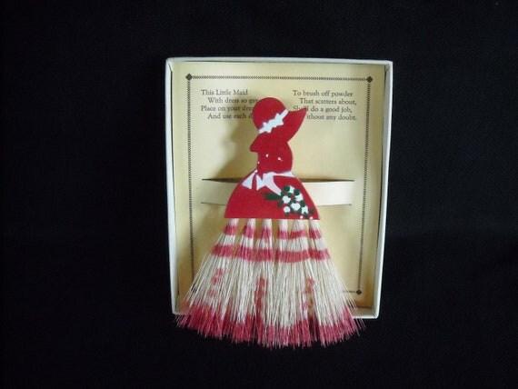 vintage whisk broom....24