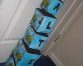 Custom Order Soft Baby Blocks