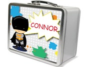 Personalized Superhero Lunchbox & Memory Box - Gifts for Boys