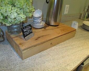 Pallet Oak Serving Tray