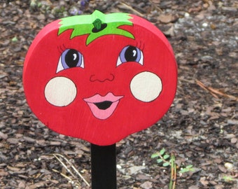 Vegetable Garden Marker - Tessie Tomato