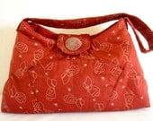 Red Holly Hobbie Shoulder/Handbag