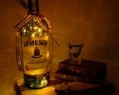 Jameson Light Up Liquor Bottle - Lighted Decorated Bottle / Lamp / Bar / Party / Night Light