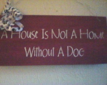 Home Pet Sign