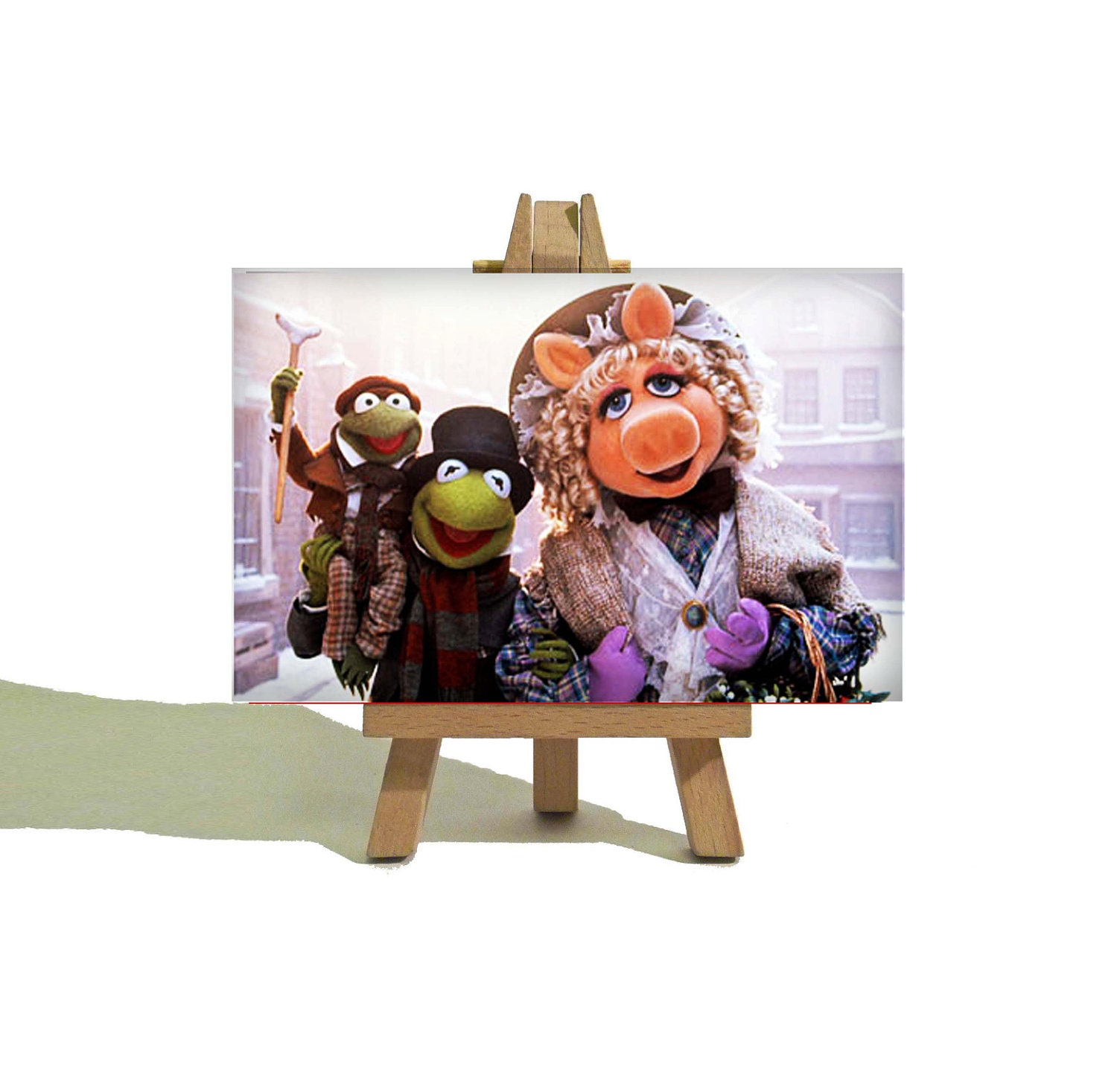 A Muppet Christmas Carol: KERMIT And Miss PIGGY The Muppets Christmas Carol Cute