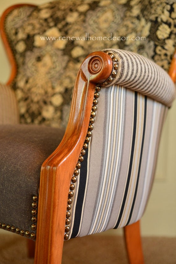 Custom Order Vintage Reclaimed Accent Chair By