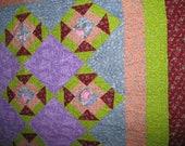 Churn Dash Baby quilt