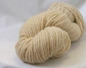 Natural, cream colored 100% Wool  Yarn