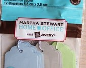 Martha Stewart Paper Tags, new in package