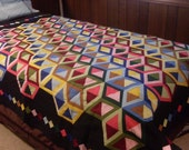 Hollow Blocks 3D Lap Quilt