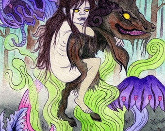 Astral Flight to the Witches Sabbat Print