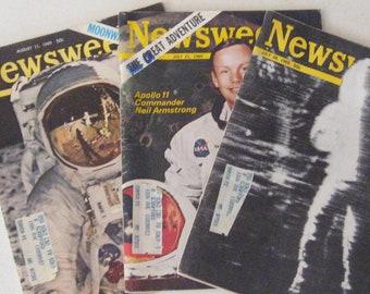 """1969 """"Moon"""" Newsweek magazine"""