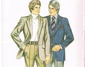Kwik Sew Pattern 1137 Men's Sportcoat (circa 1980)