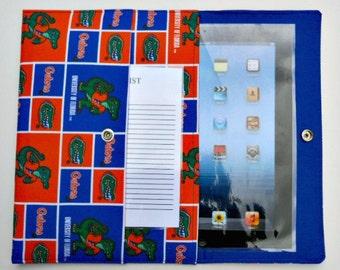iPad, iPad2, iPad3 Case / Cover / Sleeve padded (READY TO SHIP) - Florida Gators