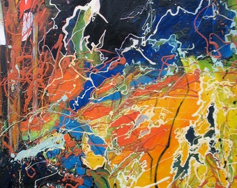 Rouse Abstract Original Painting