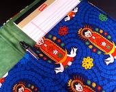 Notepad Cover/Portfolio (Viva Guadalupe Medallions)
