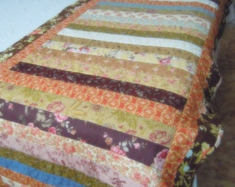 Handmade Romantic Bed Runner