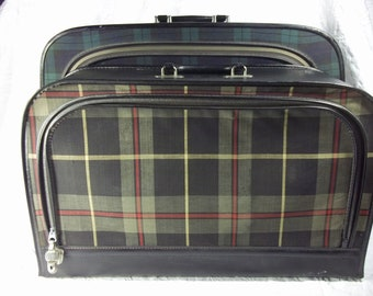Set of Vintage Leeds Suitcases, and Other