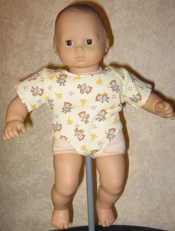 Short Sleeved Onsie for Bitty Baby doll