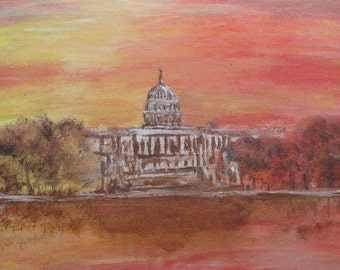 The Capitol in Autumn