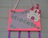 Princess Themed Pink Hair accessorie organizer