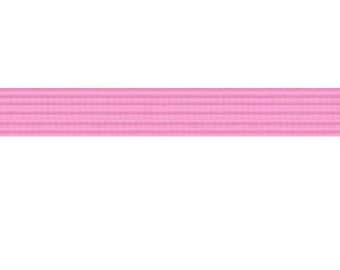 50 yards BubbleGum 1/4 inch SKINNY elastic