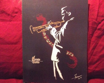 """MILES DAVIS is a Limited Edition, 10""""x13"""", numbered Print of the Original Art by Artist: Charles Freeman"""