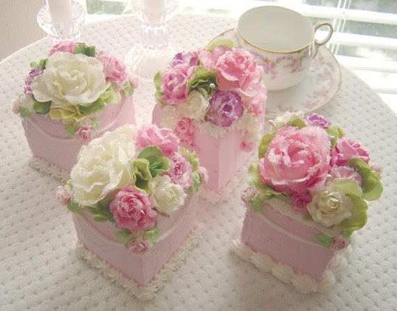 Edible FAERIE CAKES sets of 4